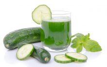 Suco Detox de Pepino Com Água de Coco: