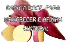 Receita de Batata-doce Com Canela Para a Saúde:
