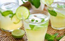Emagrecer 5 kg em 7 dias com água limão, gengibre, pepino e hortelã