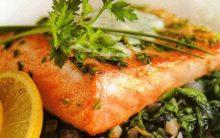 Receita Emagrecerdora Com Salmon e Espinafre:
