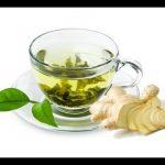 Chá Verde Com Gengibre e Canela