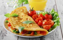 Como Ganhar 5 kg Com Omelete de Ovos