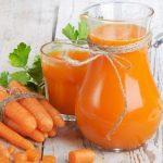 Suco de Cenoura Para Limpar o Fígado