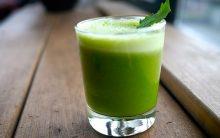 Suco Verde Para Combater a Prisão de Ventre