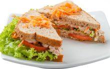 Receita de Sanduíche de Atum Com Requeijão