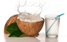 Suco Detox de Chia e Água de Coco