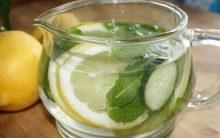 Suco Emagrecedor de Limão e Pepino