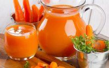 Suco de Cenoura Para Acabar Com a Fadiga