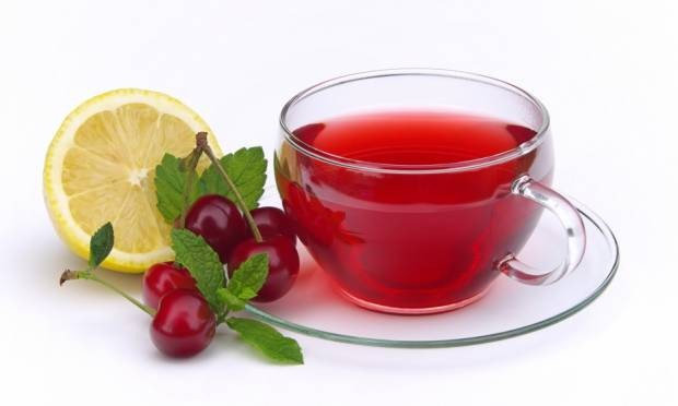 chá de acerola