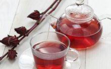 Chá de Hibisco Para Combate o Acúmulo de Gordura Localizada no Abdomin