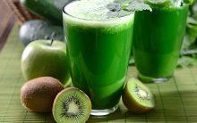 Suco Detox de Kiwi e Maçã Para Emagrecer Rápido