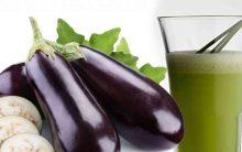 Suco de Gengibre e Berinjela Para Acelerar  Metabolismo e Queima a Gordura da Barriga
