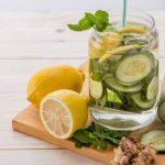 Como Perda 7 Quilos em 7 dias com Água de Limão com Gengibre, Pepino e Hortelã