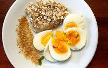 Emagrecer 10 kg Em 10 Dias Com a Dieta do Ovo Com Aveia