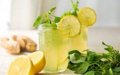 Suco de Limão Com Gengibre Para Emagrecer