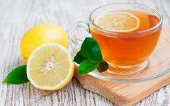 Receita de Chá de Casca de Limão