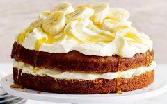 Receita de Bolo Fitness de Banana Sem Açúcar