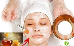 Remédio Caseiro → 5 Maneiras de Fazer uma Máscara de Mel Para o Rosto