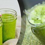 Receita de shake de proteína verde para depois do treino