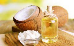 Óleo de coco para um crescimento mais rápido do cabelo